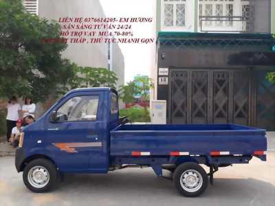 Bán xe tải nhẹ thùng 2m5 dongben 870kg trả trước 45tr nhận xe