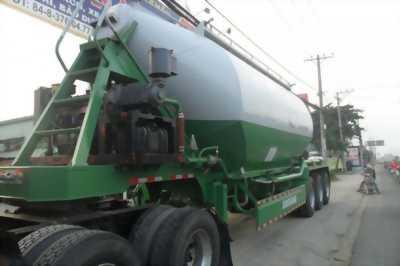 Tải trọng 33 tấn ( 31 khối) xi téc chở xi măng xá, rơ móoc có sẵn