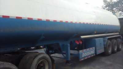 Bán Rơmooc Bồn 39m3 Doosung, chuyên chở xăng dầu