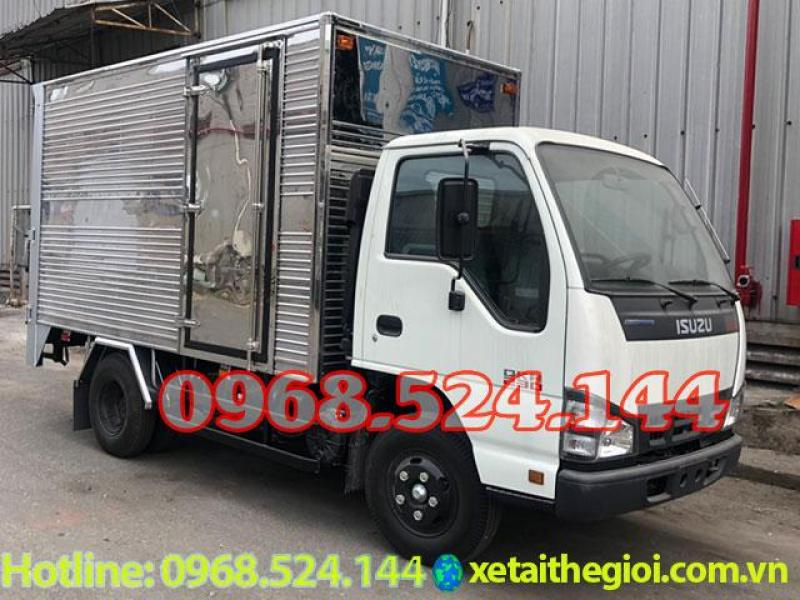 Đại lý xe tải isuzu 1T9 thùng kín | xe tải isuzu bửng nâng | xe tải isuzu 2t4 , nhiểu khuyến mãi