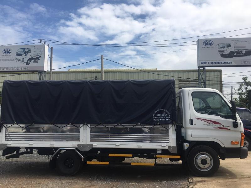 Bán xe Huyndai N250SL 2 tấn 4 thùng dài 4m2 trả trước 100tr nhận xe ngay