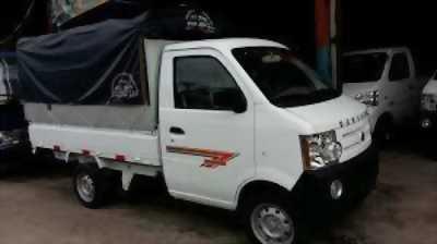 Xe tải Dongben thùng mui bạt 810kg- thùng kín 810kg