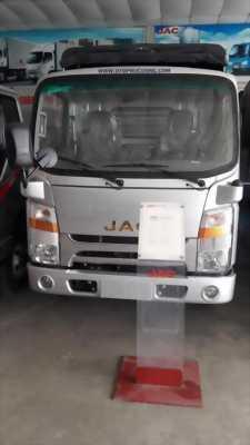 Xe tải jac 3.45 tấn cabin đầy vuông sẵn máy lạnh