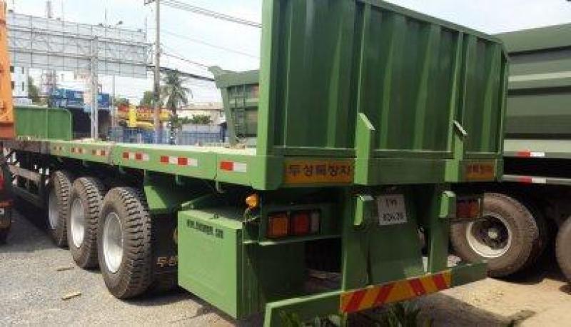 Bán giá gốc! SMRM sàn rút dài 14-21m,32 tấn chở thép