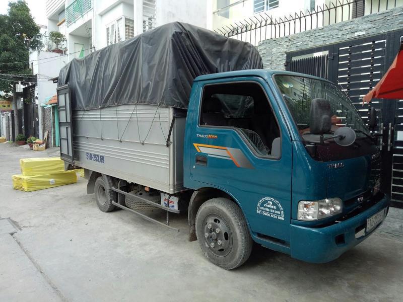 Dịch vụcho thuê xe tải chở hàng tại Bình Chánh