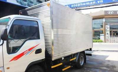 Xe tải JAC 2T4 thùng dài 3m7 mới 100% 80tr có ngay xe