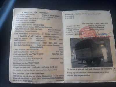 Xe tải hyundai 7T3 thùng dài 8m2 đời 1995