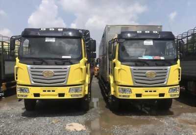 Bán xe tải Faw 7t25/7250kg/ 7tan25 thùng 9m7 thùng mui bạt bán chạy trên thị trường VN
