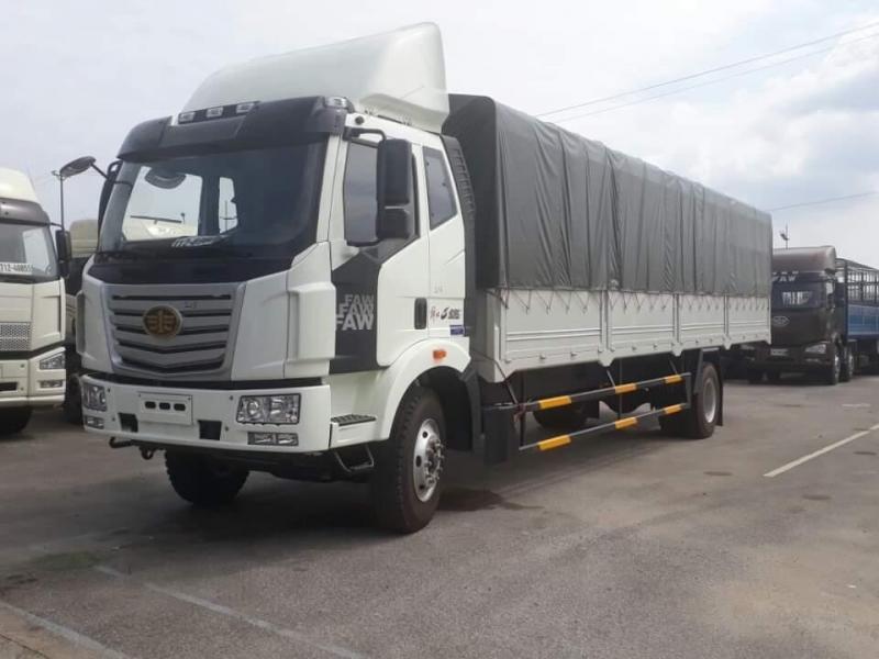 Xe tải faw 8 tấn thùng dài 9m7 chuyên chở hàng cồng kềnh,pallet