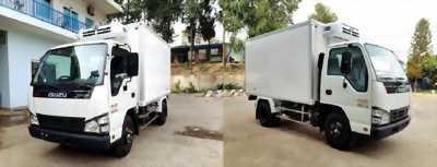 Xe tải thùng đông lạnh nhãn hiệu isuzu trọng tải 1.9 tấn