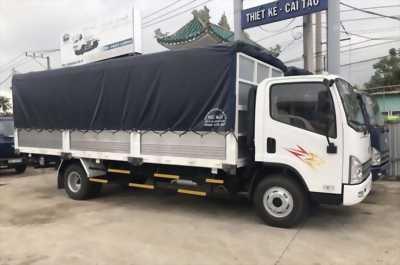 Xe Tải Faw 7,3 tấn Xe Faw 7T3 thùng dài 6m3 Xe tải Faw 7T3 máy D4DB