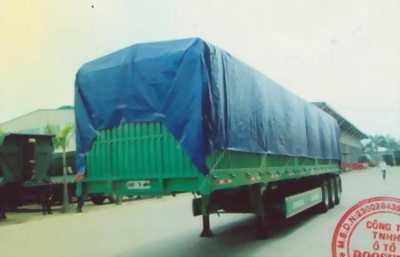 Sơ mi rơ mooc Lồng-Khung mui bạt 3 trục, 40 feet, 30.2 tấn