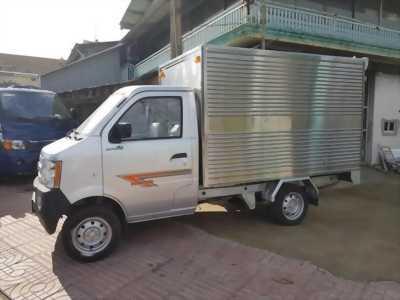Xe tải Dongben 810kg thùng mui bat đời 2018