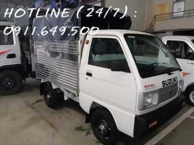 Xe tải Suzuki giá tốt nhất, Hổ trợ trã góp, tặng 100% phí trước bạ , bảo hiểm nhân sự , BH vật chất.