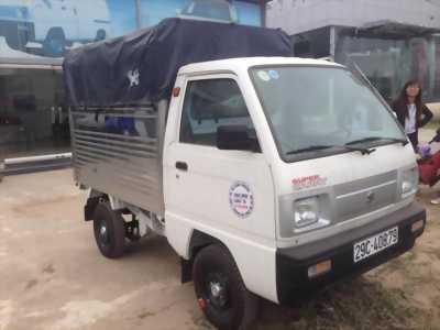 Suzuki Carry Truck 650 kg, màu trắng, thùng lửng.