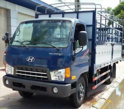 Xe Hyundai HD800 chở 9T6/- Thùng lọt lòng 5050mm.