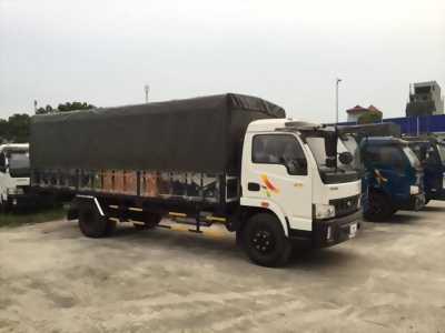 Xe veam vt490 5 tấn thùng dài 6m động cơ hyundai mạnh mẽ