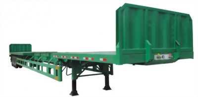 Giao ngay SMRM sàn rút dài 14-21m, 32 tấn chở thép ống