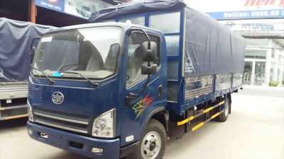 Đại lý xe tải Faw 7.3 tấn, thùng mui bạt dài 6.2m
