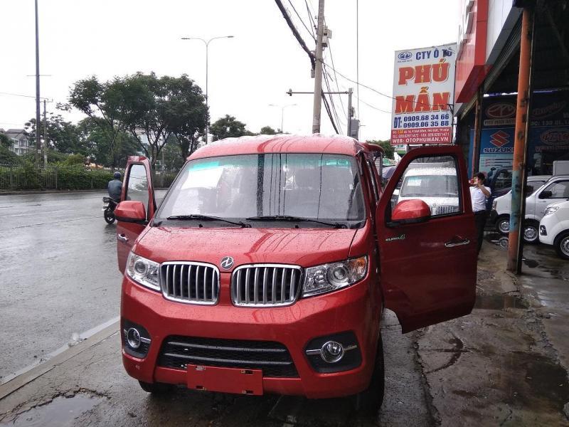 Bán xe tải van dongben 495kg, xe hạ tải vào thành phố