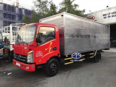 Muốn bán xe veam 1 tấn 9 euro4, xe mới 100% thùng dài 6m1