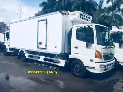 Xe Hino Đông lạnh 5T5 thùng 6m6