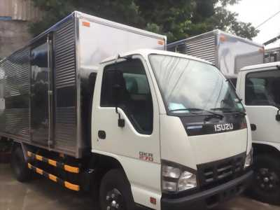 xe tải isuzu qkr77he4 thùng kín inox có sẵn giao ngay, khuyến mãi cực sốc !