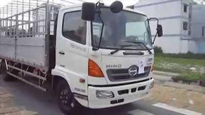 Bán ôtô tải HINO FC9JLSW MUI BẠT tải trọng 5950KG