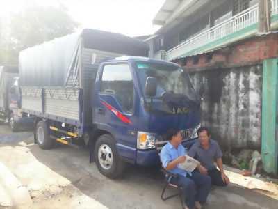 Bảng giá xe Jac 2 tấn 4 tháng 8 tại TPHCM