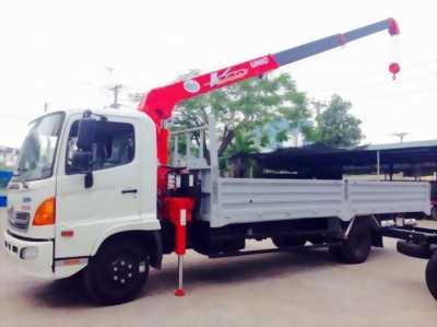 Bán xe tải hino fc 5 tấn có cần cẩu giá rẻ giao ngay