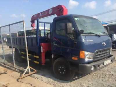 Bán xe tải hyundai hd99 5 tấn gắn cần cẩu 3 tấn