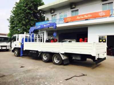 Bán xe tải hino fc 5 tấn có cần cẩu 3 tấn