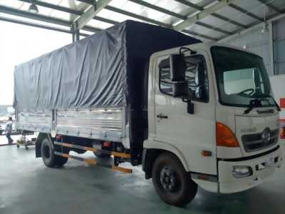Xe tải hino 6 tấn  thùng dài 5m7 5 bửng