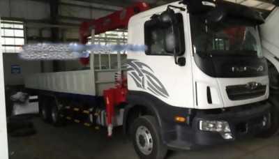 Bán xe tải deawoo tải 12 tấn có cần cẩu 5 tấn giá rẻ