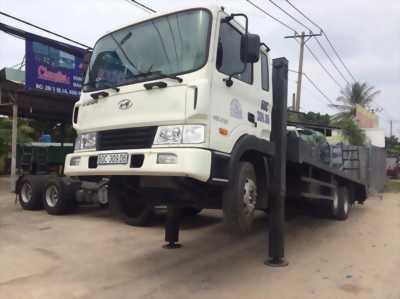 Bán xe tải hyundai hd210 tải 12 tấn có cần cẩu 5 tấn