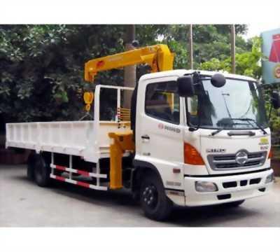 Bán xe tải hinoFC 5 tấn có gắn cần cẩu unic, sossan, tadano