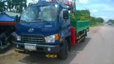 Bán xe hyundai hd99 5 tấn có cần cẩu 3 tấn