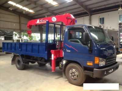 Bán xe hyundai hd99 5,5 tấn có cần cẩu 3 tấn
