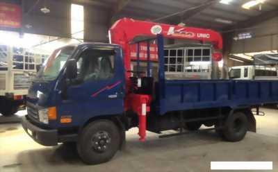Xe tải 5 tấn hyundai hd99 có cần cẩu 3 tấn