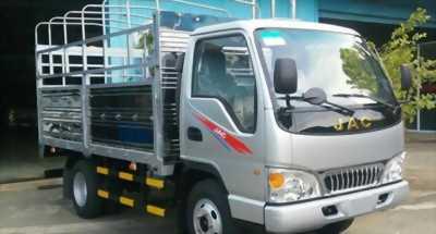 Bán xe tải jac 2.4 tấn tại Quận 12, thùng bạt dài 3m7