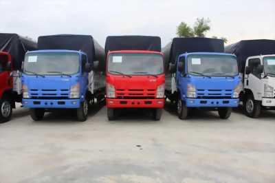 Chuyên bán xe tải Isuzu Vĩnh Phát 8.2 tấn thùng bạt