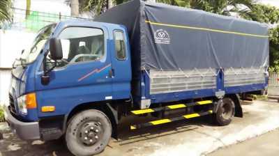 Bán xe hyundai hd 65 thùng kín, Thùng Bạt đời 2014