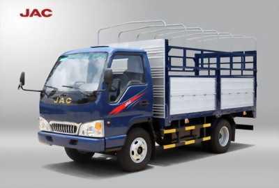 Xe tải jac 2.4 tấn hạ tải vào thành phố, trả trước 30tr