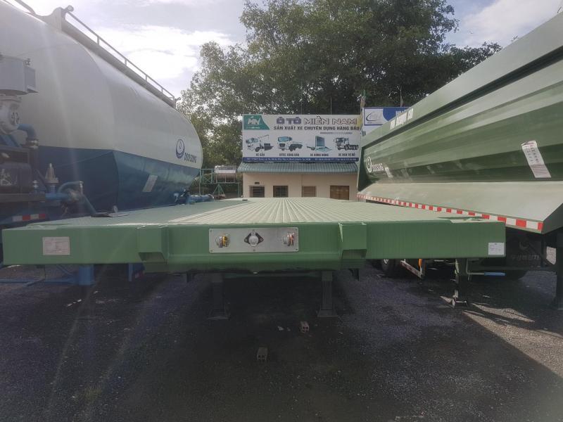 SMRM 3trục, 40 feet, sàn phẳng 12.4m, tải 32 tấn
