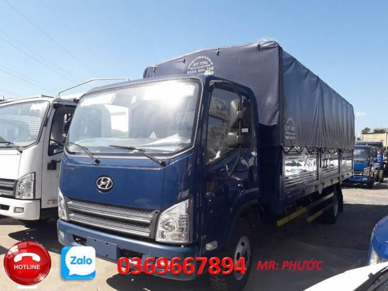 bán xe Hyundai 7.3 tấn thùng 6.2m ga cơ