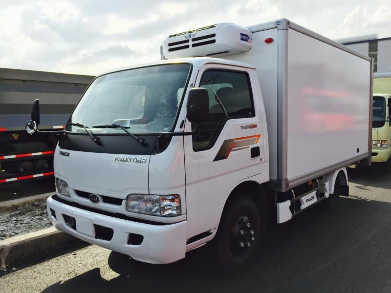 Bán xe Tải Lạnh Bongo 1T4 2007 đk lần đầu 2012