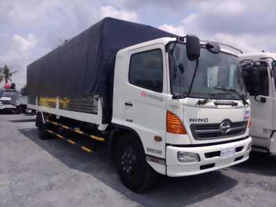 Xe tải Hino 8 tấn Euro II 2017, thùng dài 8,7m