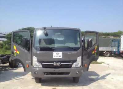 Cần bán Xe tải veam VT500 thùng bạt, thùng dài 6m1