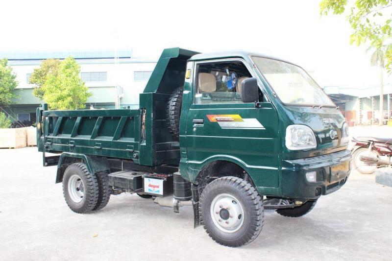 Xe ben 1,2 tấn / 1,5 tấn / 5 tấn – bán xe ben dưới 5 tấn
