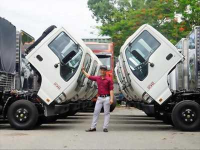 Giá xe tải 1t9 isuzu trả góp|xe có sẵn giao ngay.